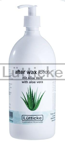 after wax lotion mit Aloe Vera 500ml